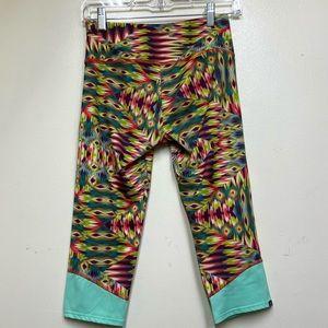 Onzie Capri Yoga Length Aztec/Tribal Print Legging